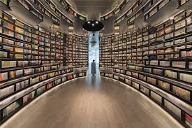 li xiang creates zhongshuge hangzhou a forest of books