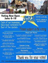 south carolina support downtown greer vote best in the upstate