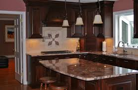 best colors for kitchens with dark cabinets my home design journey