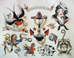 24 best sailor jerry octopus tattoo images on pinterest drawings