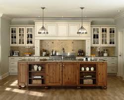 Solid Wood Kitchen Cabinets Review Kitchen Hickory Kitchen Cabinets With Dark Countertop Rustic