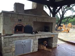 outdoor kitchen with pizza oven u2013 d y r o n