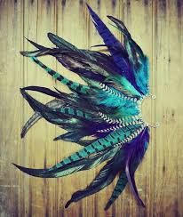 how to make feather ear cuffs best 25 large feathers ideas on feather headpiece
