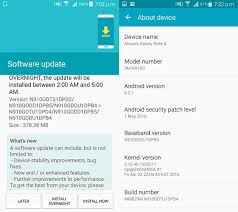 android security update galaxy note 4 already receiving may security patch in india