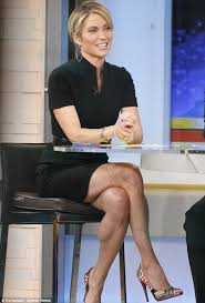 images of amy robach haircut amy robach gets her hair cut short in front of the cameras one