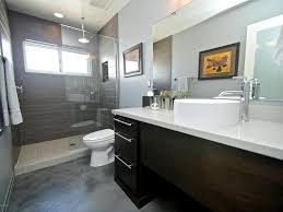 modern 3 4 bathroom with simple granite u0026 high ceiling in phoenix
