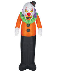 scary clown airblown inflatable u2013 spirit halloween evil pins