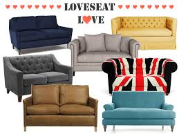 Loveseats For Small Spaces Amazing Leather Loveseats For Small Spaces 94 For Your Patio
