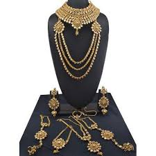 wedding necklace bridal images Designer wedding bridal kundan jewelry bridal jewellery sets jpg