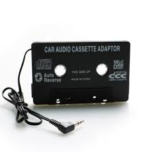 audio aux car cassette tape adapter converter 3 5mm mp3 player for