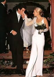 calvin klein wedding dresses carolyn bessette jfk junior wedding dress barbara della rovere