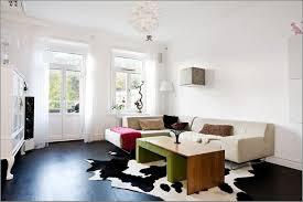 Modern Cowhide Rug Modern Living Room With Cowhide Rug Thecreativescientist