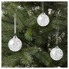 vinter 2017 decoration bauble glass 6 cm ikea