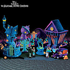 tim burtons nightmare before black light collection