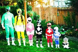 Power Ranger Halloween Costumes Coolest Power Rangers Costumes Family Halloween Costume