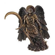 archangel gabriel bronze statue by derek w frost christian art angel