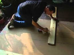 How To Stain Concrete Patio Yourself Stain Concrete Porch To Look Like Wood Easy Youtube