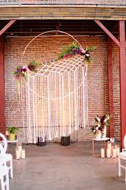 21 boho wedding ideas with macrame details elegantweddinginvites