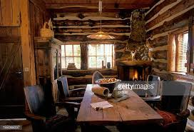 Log Home Pictures Interior Log Cabin Stock Photos And Pictures Getty Images