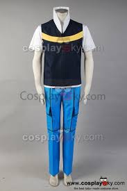pokemon ash ketchum cosplay costume custom style b pokemon