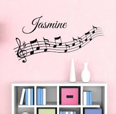 music wall decor wall decal growth chart tree color the walls of your house