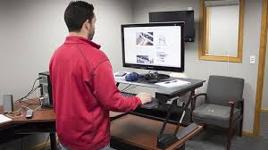 ergotron workfit t sit stand desk converter review pricing
