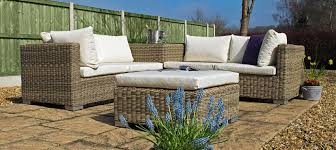 Rattan Table L Furniture Modern Garden Furniture With Brown Rattan Sofa Sets