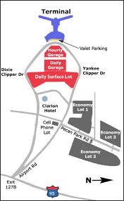 Hnl Airport Map Airport Parking Maps For Harrisburg Honolulu Houston Jacksonville