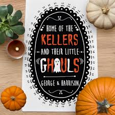 Gifts For Home Decoration Halloween Gifts For Home Personalized Family Halloween Gifts