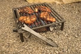 amazon com steven raichlen best of barbecue cast iron tuscan bbq