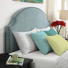 Headboard With Slipcover Diy Headboard Tutorial With Individual Brass Nails Cuckoo4design