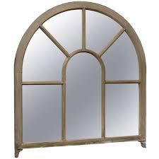 Wood Mirror Frame A French Window Frame Palladium Painted Wood Mirror For Sale At