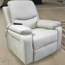 fauteuil relax releveur fauteuil relax releveur massant chauffant simili cuir 1 moteur