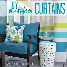 diy drop cloth outdoor patio curtains hometalk