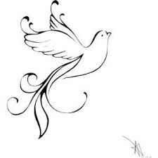 25 trending white dove tattoos ideas on pinterest dove outline