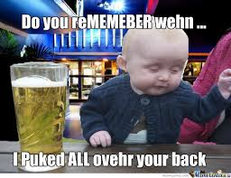 Drunk Baby Meme - drunk baby by thundergoat meme center
