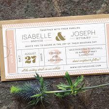 Boarding Pass Wedding Invitation Card Modern Ticket Wedding Invitation U0027typography Ticket U0027 Cute