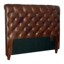 tall black leather tufted headboards houzz
