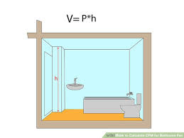 How To Calculate CFM For Bathroom Fan  Steps With Pictures - Bathroom fan window
