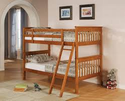 Twin Bunk Bed Designs by Wooden Bunk Bed Basic Wood Bunk Or Loft Bed Ladders Wood Twin