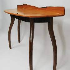 Yew Side Table Console And Hall Tables Northwest Woodworkers Gallery