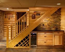Pictures Of Wet Bars In Basements Basement Wet Bar Under Stairs