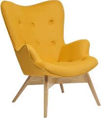 fauteuil kare design fauteuil wings geel eco kare design wings