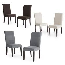 Dining Chair On Sale Morgana Tufted Parsons Dining Chair Set Of 2 Hayneedle