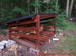 Plans For Building A Firewood Shed by Diy Firewood Shed Plans