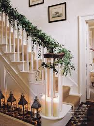 Interior Stair Lights 22 Beautiful Christmas Decorations For Stair Ideas Home Design