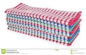 serviette cuisine serviette serviette de cuisine sur un fond illustration stock