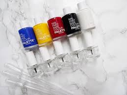 palette london create your own nail paint collection really ree