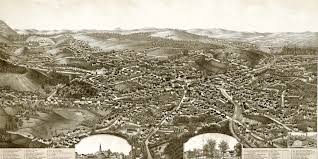 Birds Eye View Map Old Map Provides Bird U0027s Eye View Of Leominster Ma In 1886 Knowol