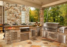 outdoor kitchen islands 17 outdoor kitchen island designs ideas design trends